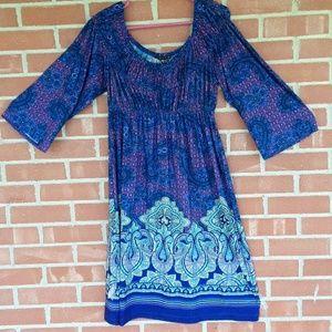 Tiana B. polyester spandex dress, sz M